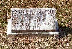 Emma Elizabeth Lizzie <i>Farr</i> Dameron