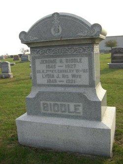 Lydia Jane <i>Merrell</i> Biddle