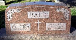 Bertha M. <i>Frank</i> Bald