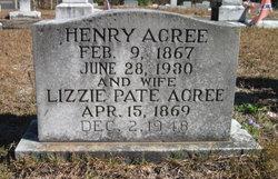 Lizzie <i>Pate</i> Acree