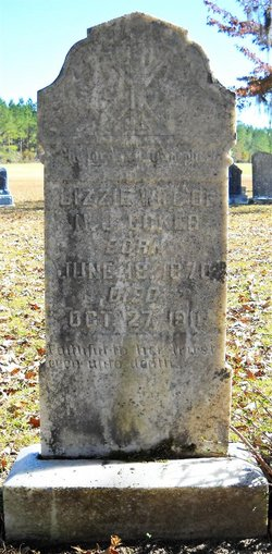 Martha Elizabeth Lizzie <i>Godwin</i> Coker