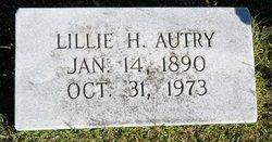 Lillie H Autry