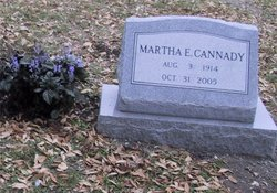 Martha Elizabeth <i>Morefield</i> Cannady