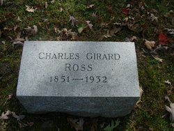Dr Charles Girard Ross