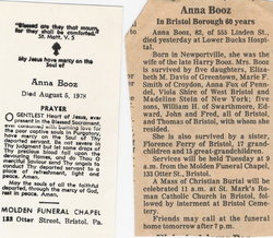 Anna Annie <i>Sharkey</i> Booz
