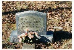 Mrs Susan Louise Miss Lulu <i>Mason</i> Amos