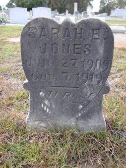 Sarah E Jones