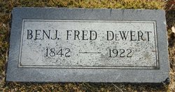 Benj. Fred DeWert