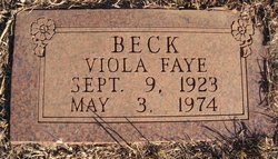 Viola Faye Beck