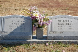 Melbert M Cantrell