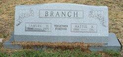 Hattie B. <i>Cooper</i> Branch