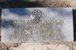 Ruth Ann <i>Witcher</i> Cashion