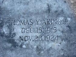 Thomas Young Akins, Jr