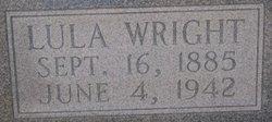Lula Nancy Jane <i>Wright</i> Criglow