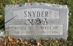Myrtle Joy <i>Dillinger</i> Snyder
