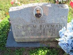 Ollie M. Bowman