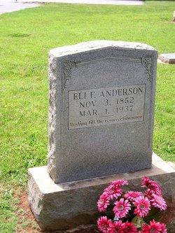 Eli F Anderson