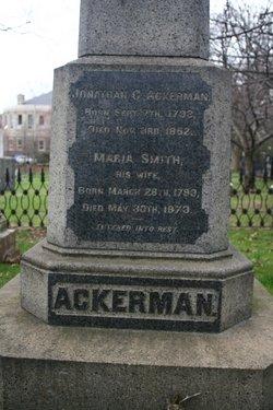 Maria <i>Smith</i> Ackerman