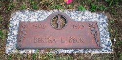 Bertha Lorene <i>Newman</i> Beck