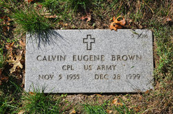 Corp Calvin Eugene Brown