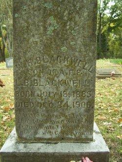 William H Willie Blackwell