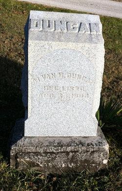 Alvan Bentley Duncan