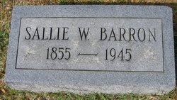 Sallie <i>Welch</i> Barron