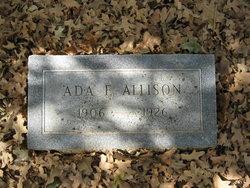 Ada E <i>Wilson</i> Allison