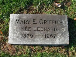 Mary E <i>Leonard</i> Griffith