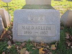 Blanche Mae <i>Dahlgren</i> Arleth