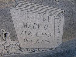 Mary <i>Quick</i> Covington