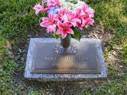 Alice C <i>Baker</i> Danford