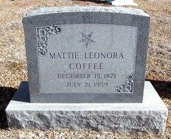 Mattie Leonora <i>Swagerty</i> Coffee