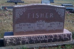 Bertha <i>Fultz</i> Fisher
