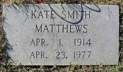 Kate <i>Smith</i> Matthews