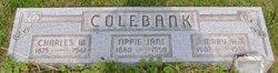 Charles W Colebank