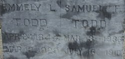 Samuel F Todd