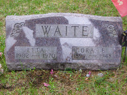 Henrietta W Etta <i>Caird</i> Waite