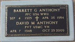 David M Anthony