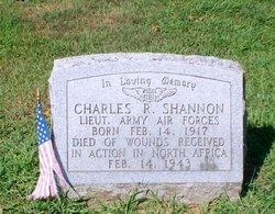 Lieut Charles R. Shannon