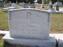 Lilla <i>Akins</i> Rushing