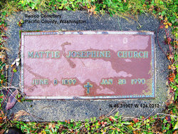 Mattie Josephine Jo <i>Oller</i> Church