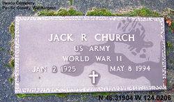 Jack Raymond Church