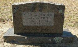 Alice B Atwood