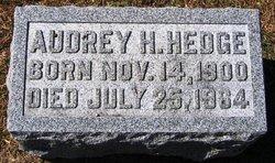 Audrey H. Hedge