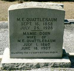 Mary Jane Mamie <i>Dorn</i> Quattlebaum