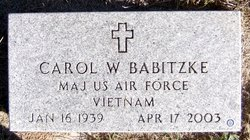 Carol <i>Witt</i> Babitzke
