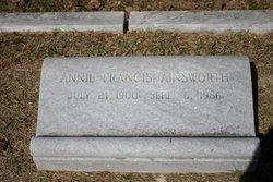Annie Francis Ainsworth