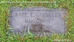 Kate Elizabeth <i>Harlacher</i> Spangler