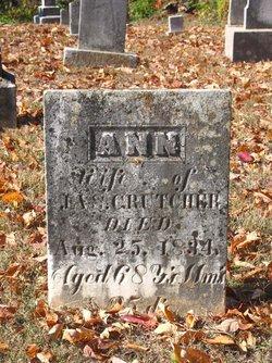 Ann <i>Poor</i> Crutcher